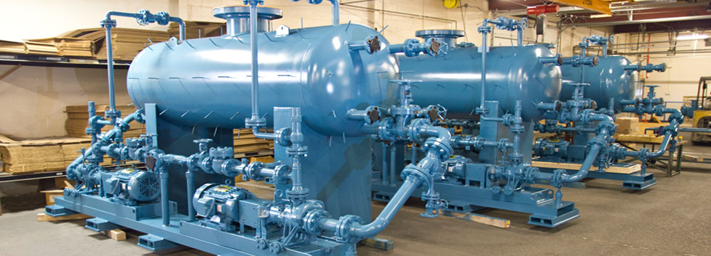 Steam Condensate Return Pumps & Systems