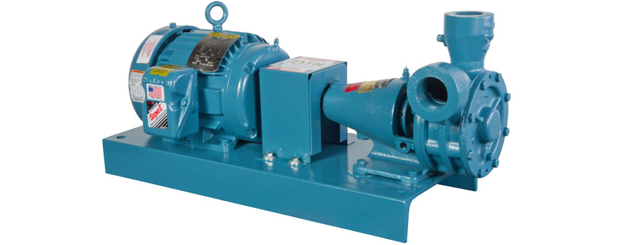 end mounted industrial pumps