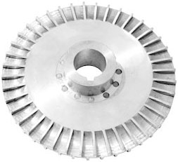 regenerative turbine pump impeller