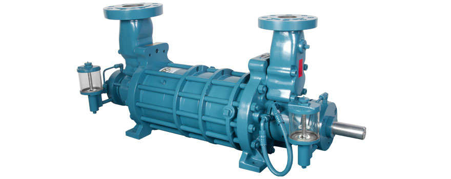 multistage chemical pump