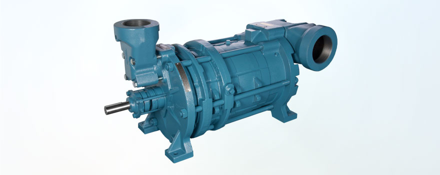 low NPSH multi-stage industrial pumps